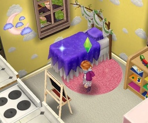 toddler, cute, and sims freeplay image