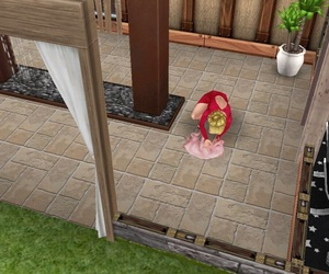 pet, sims freeplay, and piggie image
