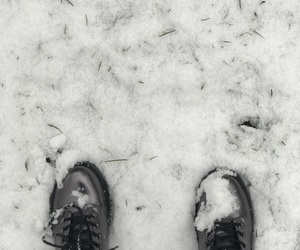 boots, ice, and snow image