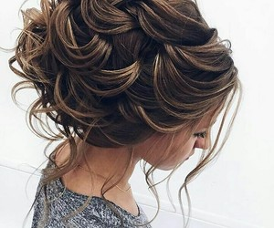 brown, style, and hair image