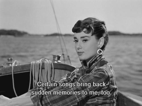audrey hepburn, quotes, and memories image