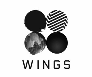 bts, 2k16, and wings album image