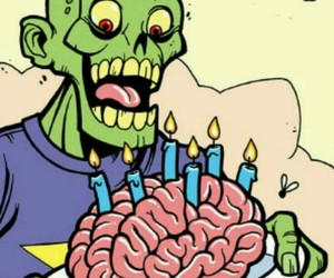 zombie, cumpleaños, and tarjetasdecumpleaños image