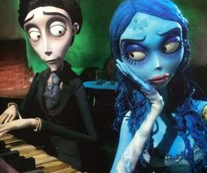 movie, corpse bride, and tim burton image