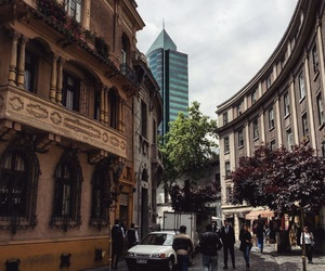 calle, chile, and santiago image