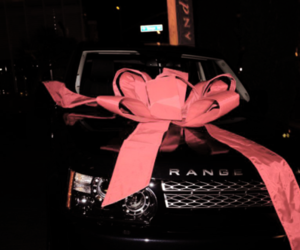 car, range rover, and black image