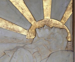 gold, art, and sun image