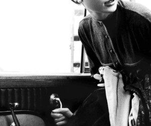 audrey hepburn, black and white, and classic image
