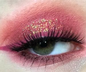 eye, makeup, and photography image