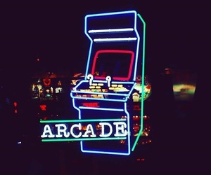 game, light, and arcade image