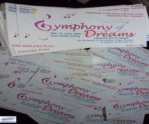 digital printing, Philippines, and tickets image