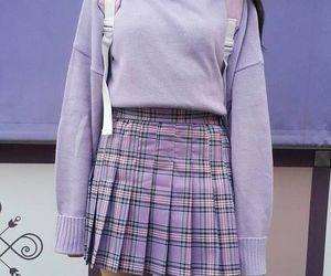 purple, style, and fashion image