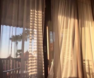 aesthetic, beige, and window image