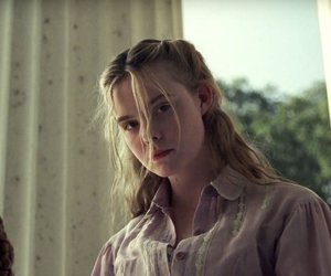Elle Fanning and the beguiled image