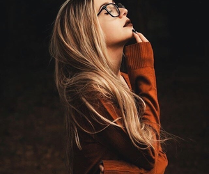 girl, autumn, and photography image