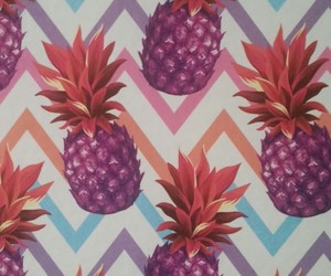 ananas, patterns, and pineapple image