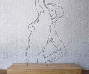 art, woman, and sculpture image