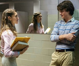 stranger things, couple, and Nancy image