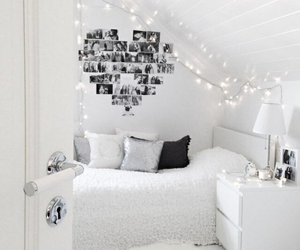 bedroom, room, and white image