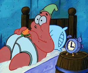 patrick, food, and spongebob image
