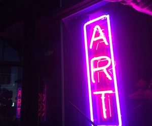 alternative, grunge, and neon lights image