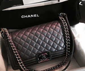 bag, chanel, and luxury image