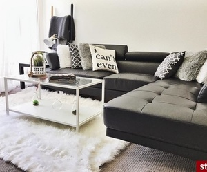 bedroom, black, and design image