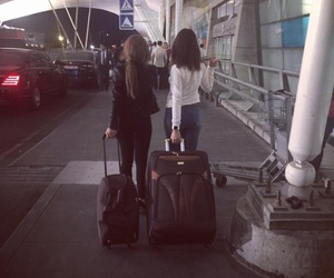 airport, girl, and armenia image