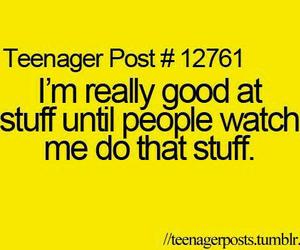 teenager post, funny, and stuff image