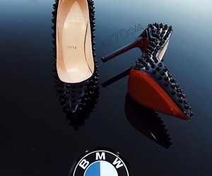 highheels, style, and bmw image