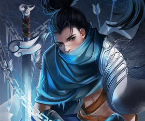 league of legends, yasuo, and art image