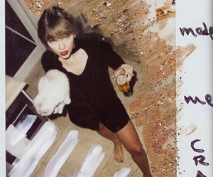 Reputation, Taylor Swift, and polaroid image