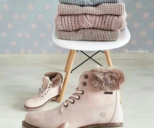 cold, fashion, and shoes image