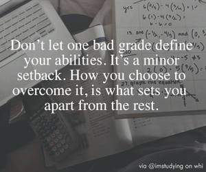 grades, motivation, and quote image