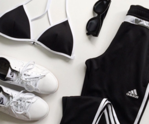 adidas, fashion, and fitness image