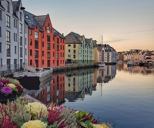 buildings, colourful, and europe image