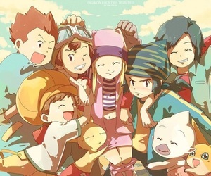 digimon and digimon frontier image