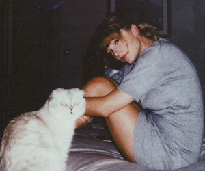 Taylor Swift, cat, and Reputation image