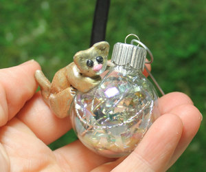 polymer clay, christmas decoration, and tree decoration image