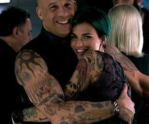 green, Tattoos, and Vin Diesel image