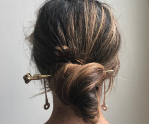 hair, hairstyle, and indie image