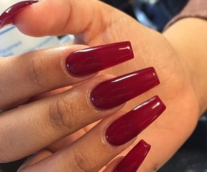 acrylics, claws, and manicure image