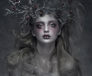 beauty, dark, and faerie image