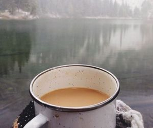 coffee, nature, and autumn image