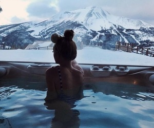 girl, winter, and goals image