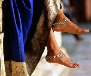 arab, blue, and dress image