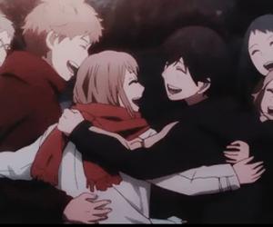 anime, orange, and friends image