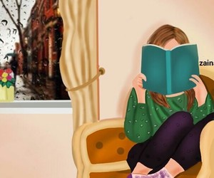 book, cartoonish, and casual image