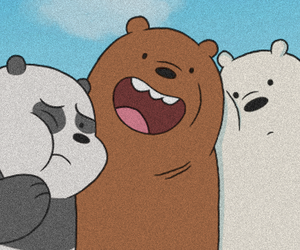 we bare bears, header, and wallpaper image
