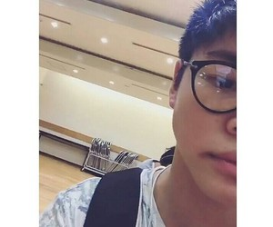 boy, dancer, and glasses image